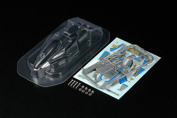 TAMIYA 15448 JR Vanquish Jr Clear Body Set
