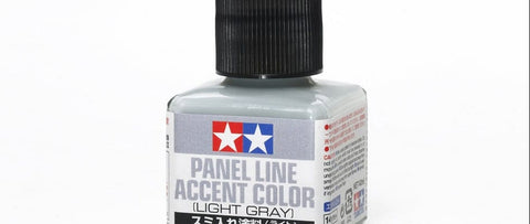 tamiya 87189 Panel Line Accent Color - Light Gray