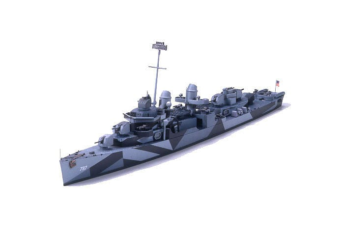 31907 US Destroyer Cushing - RUI YONG HOBBY