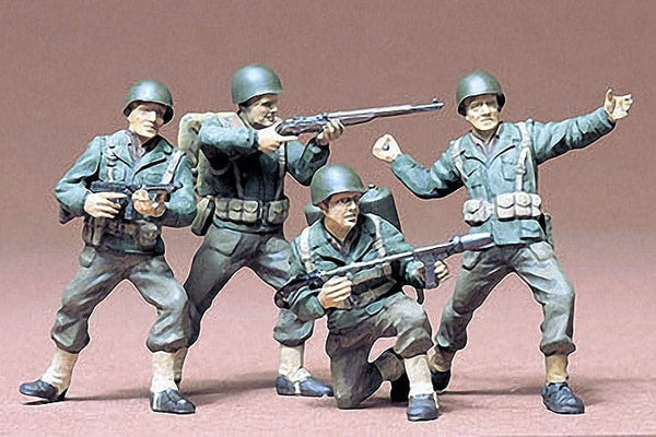 TAMIYA 35013 U.S. Army Infantry Kit - CA113
