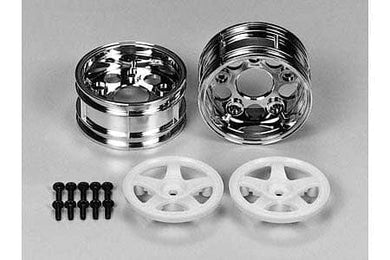 TAMIYA 50672 RC 5Spoke TwoPiece Wheels