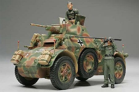 89697 German AB43 Armored Car - w/Tamiya Figures - RUI YONG HOBBY