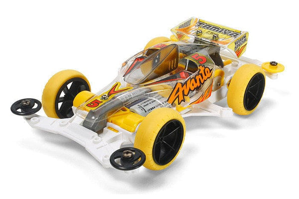 TAMIYA 95060 JR Avante Jr. Clear Body - VS Chassis Yellow Special