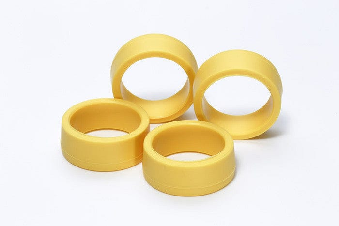95205 JR LP Offset Tread Tires - Hard/Yellow - RUI YONG HOBBY