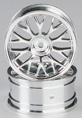 HPI 3712 Mesh Wheel 26mm Chrome (2)