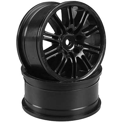 HPI 3771 10-Spoke Sport Wheel 26mm Black (2)