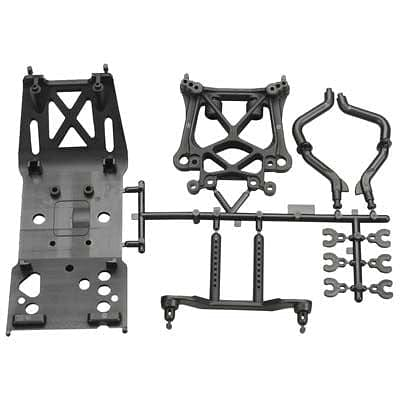 85234 Skid Plate/Body Mount/Shock Tower Set SVG X - RUI YONG HOBBY