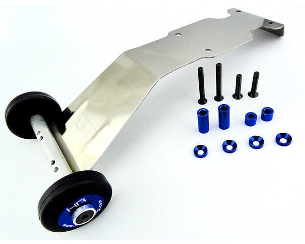 ARVO133S06 Wheelie Bar, Stainless Steel, for Revo