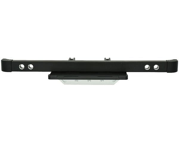 TRXF03CF01   Aluminum Front Bumper w/ Skid Plate & Winch Mount, for Traxxas TRX-4