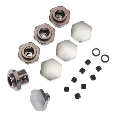 MIP 10115 17mm Hex Adapter Kit Slash 4x4/Rally - RUI YONG HOBBY