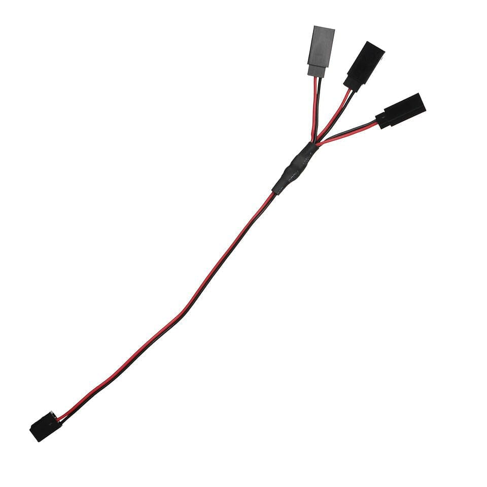 MYK-LSY   3-Way Y-Cable - 1-3-Way Y-Cable For Under Body Light Strips