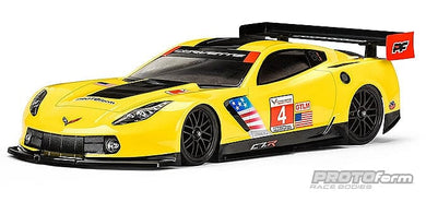 PRO155730 Chevrolet Corvette C7.R Clear Body for 190mm Touring Car