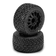 1172-14 1/10 Road Rage 2.8 All Terrain Tires Mounted(2