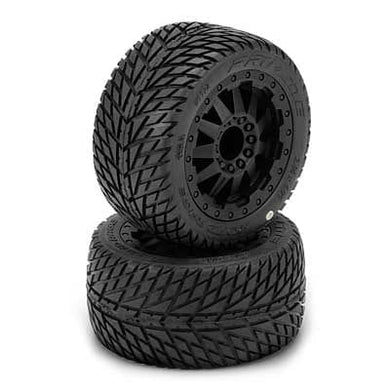 1172-14 1/10 Road Rage 2.8 All Terrain Tires Mounted(2 - RUI YONG HOBBY