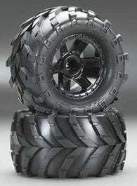 1192-12 Masher 2.8 All Terrain Tires Mntd Blk Whls