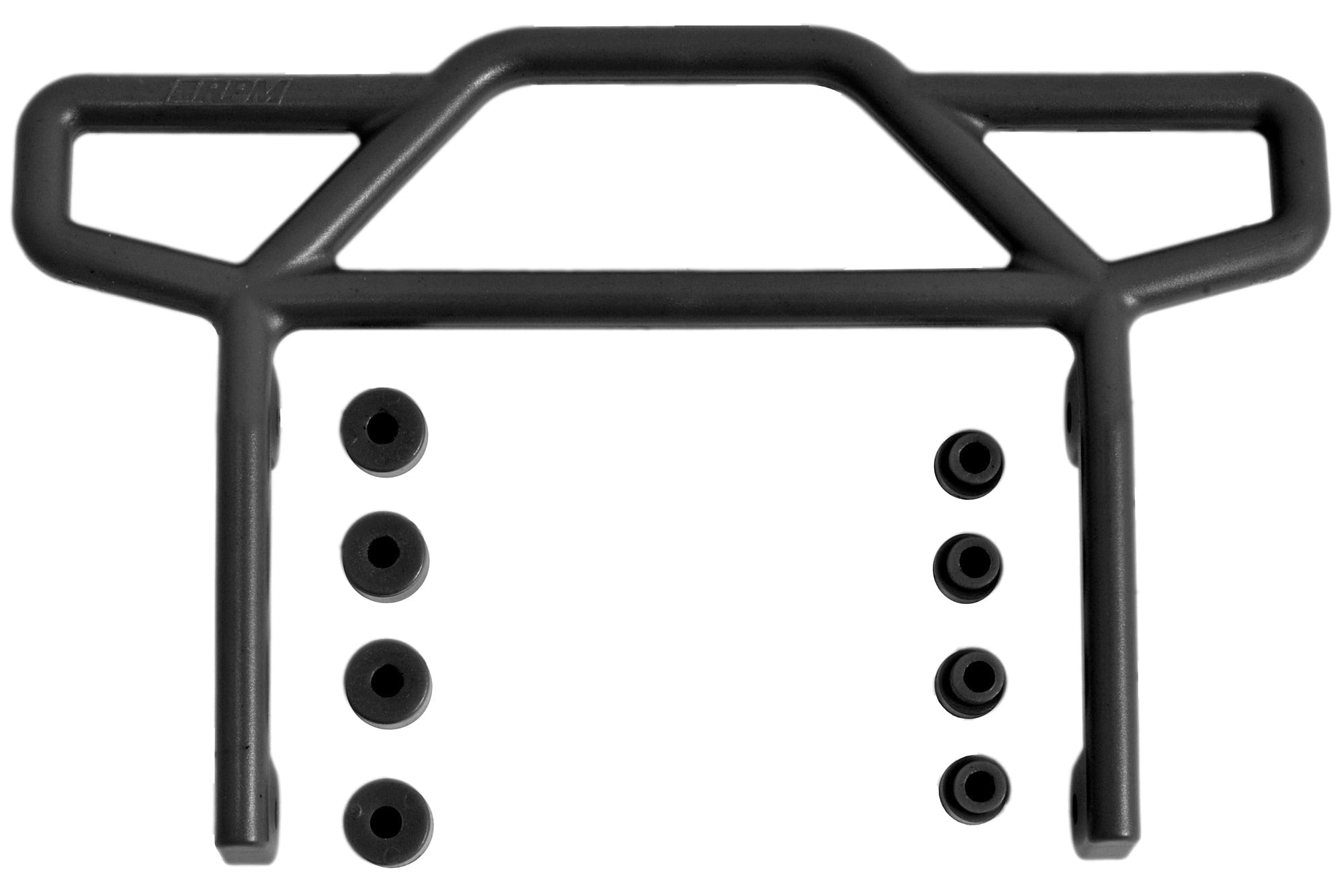 RPM 70812   Rear Bumper, Black, for Traxxas Electric Rustler