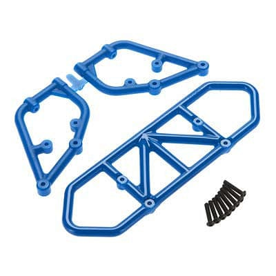 RPM 81005 Rear Bumper Blue Slash - RUI YONG HOBBY