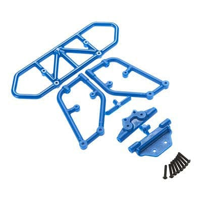 RPM 80125 Rear Bumper Blue Slash 4x4 - RUI YONG HOBBY