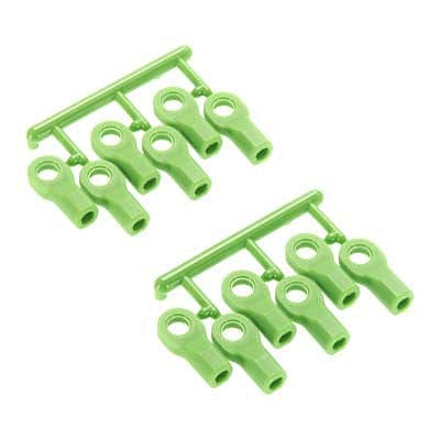 RPM 80474 Rod Ends Short Green Traxxas