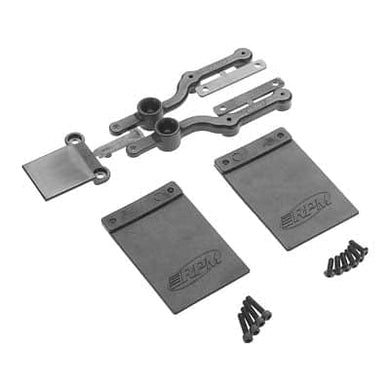 RPM 70152 Mud Flap/Number Plate Kit SC10 2WD - RUI YONG HOBBY