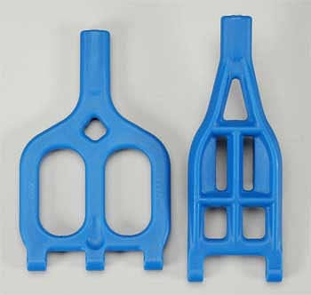 80465 A-Arms Upper/Lower Blue 2.5R/3.3 (2) - RUI YONG HOBBY