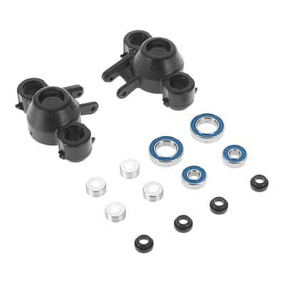 RPM 80582 Axle Carriers/Oversized Bearings Blk Revo - RUI YONG HOBBY