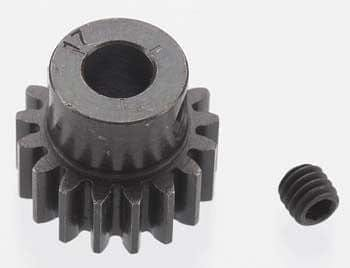RRP 8617 Extra Hard 17T Blackened Steel 32P Pinion 5mm - RUI YONG HOBBY