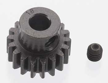 RRP 8618 Extra Hard 18T Blackened Steel 32P Pinion 5mm - RUI YONG HOBBY