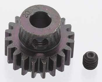 RRP 8620 Extra Hard 20T Blackened Steel 32P Pinion 5mm - RUI YONG HOBBY