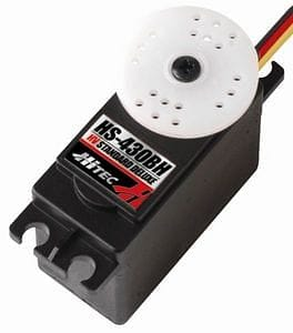HRC31430S   HS-430BH Deluxe High Voltage Servo 0.14sec/69oz @ 7.4V