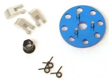 ST4142XB Clutch Shoes/Flywheel Set Blue Nitro Slash (3) - RUI YONG HOBBY