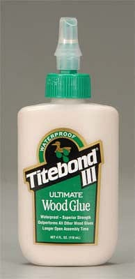 1412 Titebond Ultimate Wood Glue III 4 oz - RUI YONG HOBBY