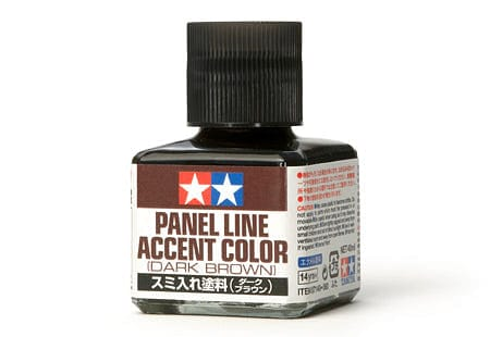 TAMIYA 87140 Panel Line Accent Color - Dark Brown - RUI YONG HOBBY