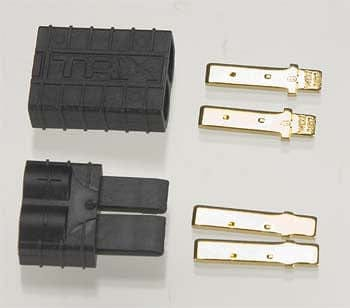 TRAXXAS 3060 Male/Female TRA Connector Plug Only - RUI YONG HOBBY