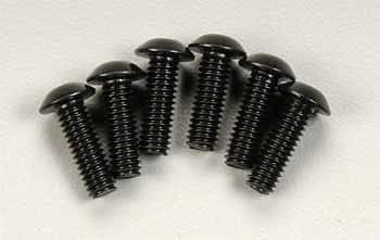 TRAXXAS 3937 Button Head Machine Screw 4x12mm Revo (6) - RUI YONG HOBBY