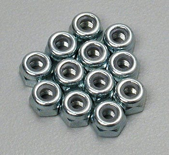 TRAXXAS 2745 Nylon Locknuts 3mm (12)