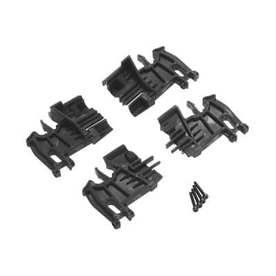 7718 Battery Hold-Down Mounts Left (2) Right (2) 3x18mm - RUI YONG HOBBY
