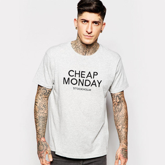 T-Shirt Weekday Crew Sweatshir Big