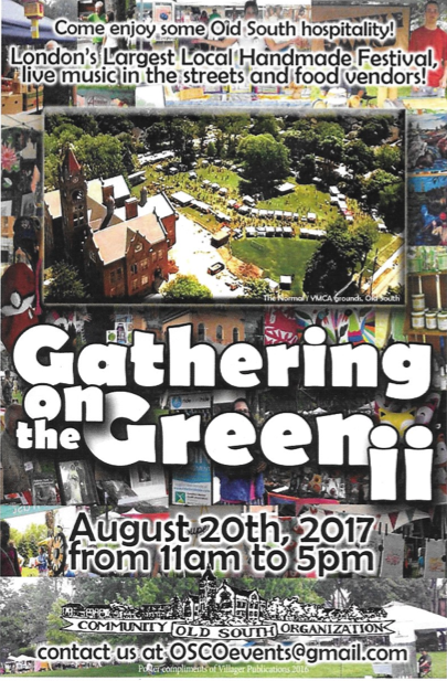 Gathering on the Green TODAY!!!