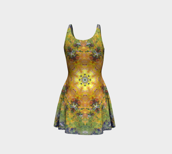 Sunflower Power, Flare Dress