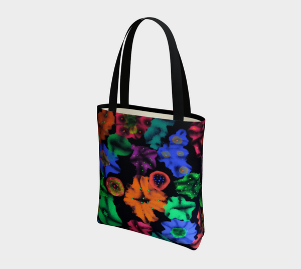 Cosmic Bouquet Tote Bag
