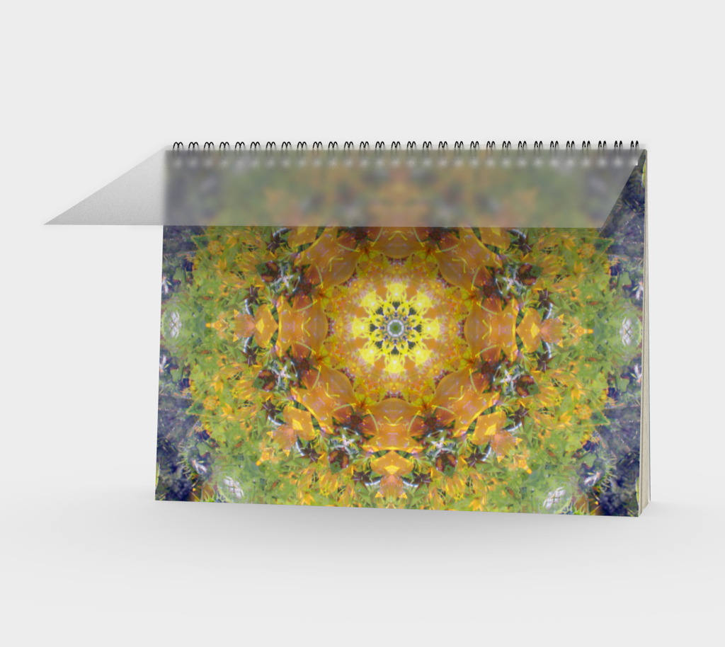Spiral Notebook, Sunflower Power