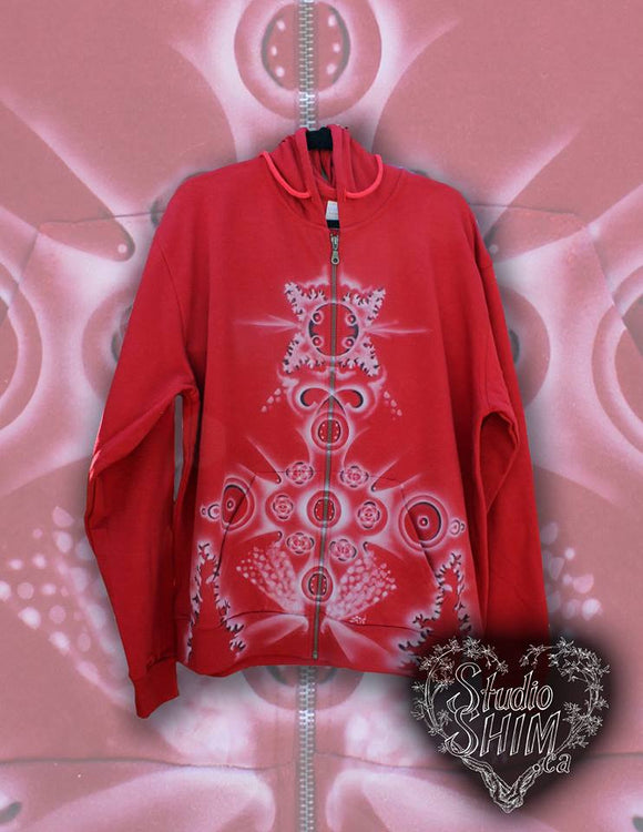 VIBRATIONAL TREES - MADE IN CANADA - FULL ZIP HOODIE