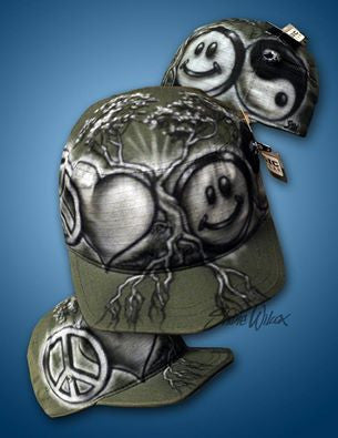 Airbrushed Hat - Studio Shim