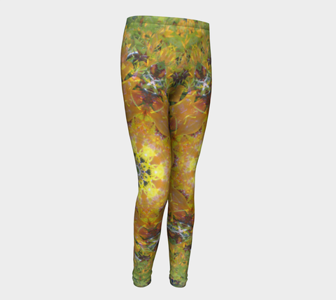 Sunflower Power, Youth Leggings