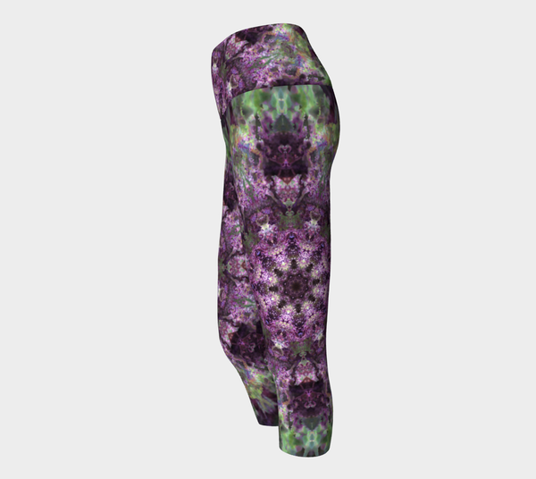 Purple Refraction, Yoga Capris