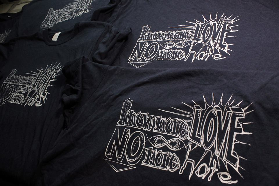 KNOW MORE LOVE T-SHIRT