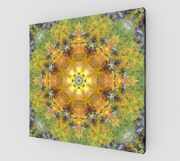 Sunflower Power, Canvas Print