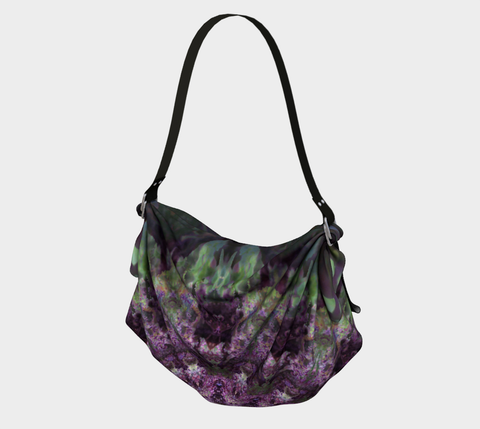 Purple Refraction, Origami Tote