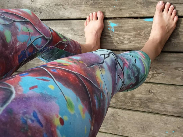 Bursting Yoga Capris